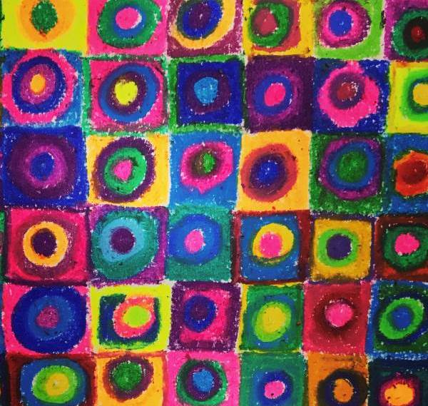 Magic Squares Art E-Course from Kassi Martin