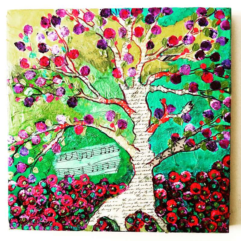 The Patchwork Tree £100